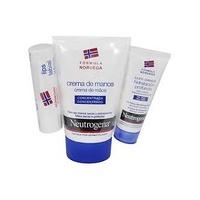 Neutrogena crema de manos concentrada 50 ml + regalo cacao 4,8g + loción corporal 15 ml
