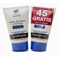 Neutrogena crema de manos concentrada duplo 2x50ml (45% gratis en la 2ª unidad)