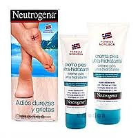 Neutrogena crema de pies ultra-hidratante 100ml + 100ml