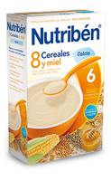 Nutriben 600 G 8 Cereales Y Miel Calcio