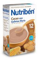 Nutriben 600 G Papilla Cacao Con Galletas Maria