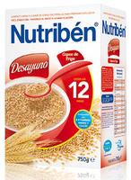 Nutriben Desayuno 750 G Copos De Trigo