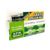 Oenobiol Capilar Fortificante Cabello y uñas TRIPLO (3 X 60 Capsulas) + Regalo cepilo de pelo