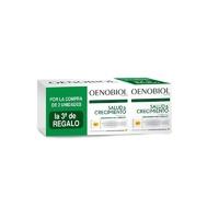 Oenobiol Capilar Revitalizante (Salud y Crecimiento) TRIPLO (3 X 60 Caps) + Regalo Cepillo