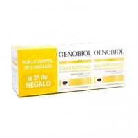 Oenobiol Solar Intensivo Preparador pieles sensibles TRIPLE (3 x 30 Capsulas) + Regalo Estuche de Verano