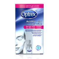 Optrex actimist spray 2 in1 para ojos secos e irritados 10ml