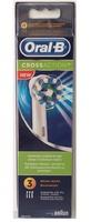 Oral-B Recambio cepillo eléctrico crossaction 3 unidades