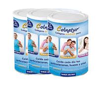 Pack 3 Colnatur Colágeno 300 gr sabor neutro
