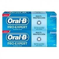 Pasta dentífrica Oral-B pro-expert multiprotección duplo 2x100ml
