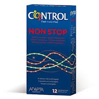Preservativos Control Non Stop 12 Unidades