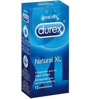 Preservativos Durex Natural XL 12 unidades