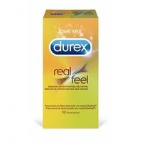 Preservativos Durex RealFeel sin latex 12 Unidades