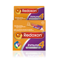 Redoxon inmuno4 14 sobres sabor naranja