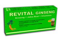 Revital Jalea Real Ginseng +vit C 20 Ampollas