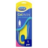 Scholl GelActiv plantillas uso diario mujer 2 unidades