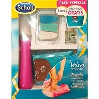 Scholl lima electrónica velvet smooth de uñas + regalo neceser y aceite de uñas 3ml