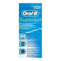 Seda dental Oral-B super floss 50 unidades