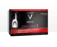 Vichy Dercos Aminexil clinical 5 hombre 21 ampollas + regalo 12 ampollas aminexil hombre